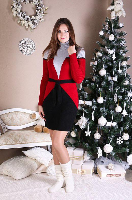 Вязаное платье Corset 44-50р