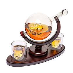 Набор для виски стаканы и штоф подарочный Доктор Фауст