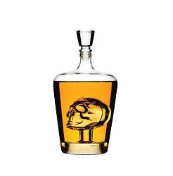 Штоф оригинальный для виски Веселий Роджер 1000 мл.