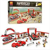 Конструктор SY Гараж Ferrari 915 деталей 6774