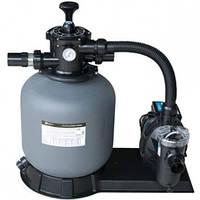 Фильтрационная установка для бассейна Emaux FSF350 4,32 м3/ч с насосом SS033