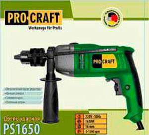 Дриль ударний Procraft PS-1650