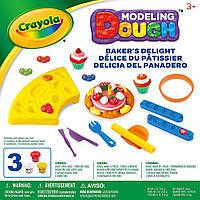 Набор для творчества тесто пластилин для лепки Крайола Кексы Crayola Modeling Dough Bakers Delight Kit