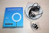 Лампа Сэлфи LED кільце 16см (синя коробка), фото 5
