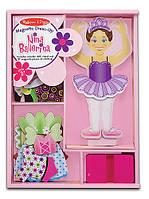 """MD3554 """"Ніна-балерина"""" - магнітна одевалка Melissa & Doug"""