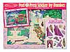 "MD4009 Peel & Press - Princess Fairytale (Об'ємна наклейка з номерами ""Казкова принцеса"") Melіssa & Doug"