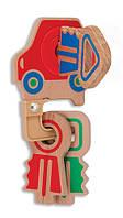 "MD4022 Clacking Key Ring Baby & Toddler Toy (Деревянная игрушка ""Детские ключики"") Melissa & Doug"