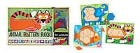 "MD4382 Animal Pattern Blocks (Дерев'яна мозаїка ""Тварини"") Melіssa & Doug"