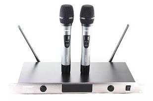 Радіосистема Shure SH UGX8 II база 2 мікрофона Сірий (009629)