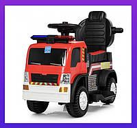 Электромобиль Bambi Детский грузовик Красный Талокар
