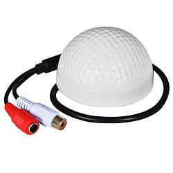 Микрофон для видеонаблюдения для видеорегистратора Rikovos GK-800G, активный, высокочувствительный