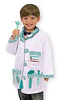"MD14839  Doctor Role Play Costume Set  (Костюм ""Доктор"", 3-6 лет)  Melissa & Doug"
