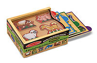 MD4790 Животные-набор из 4 пазлов Melissa & Doug