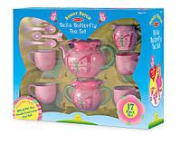 "MD6181 Bella Butterfly Tea Set  (Детский чайный сервиз ""Бабочка Белла"") Melissa & Doug"