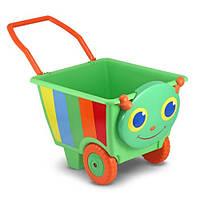 """MD6266 Happy Giddy Kids' Cart (Детская тележка """"Счастливая стрекоза"""") Melissa & Doug"""