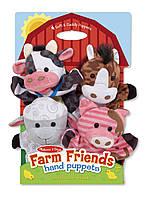 "MD19080 Farm Hands Animal Puppets (Ляльковий театр ""Тварини ферми"") Melіssa & Doug"