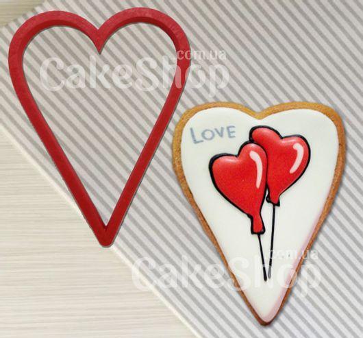 Вирубка пластикова Серце 1