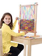 MD19381 Multi-Craft Weaving Loom (Большой ткацкий станок) Melissa & Doug