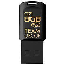 USB 2.0 флеш накопичувач Team 8GB C171 (TC1718GB01) чорний новий