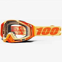 Мото очки 100% RACECRAFT Goggle Sahara - Clear Lens, Clear Lens