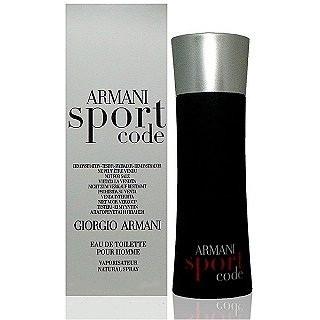 Giorgio Armani Code Sport туалетная вода 125 ml. (Тестер Джорджио Армани Код Спорт)