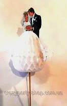 Топпер для украшения праздничного стола  Жених и невеста