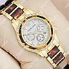 Кварцевые наручные часы Michael Kors crystal Gold-turtle/White 1686