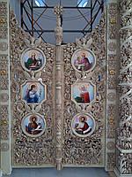 Царские врата барочные для иконостаса 1