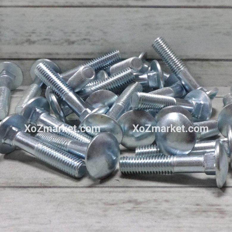Болт замковый Ø 6х60 мм ➜ 200 штук/упак ➜ Болт мебельный DIN 603