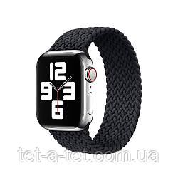 Ремінець (тканинний моно браслет) Braided Solo Loop для Apple Watch 38mm/40mm Charcoal Size 6 (144 mm)