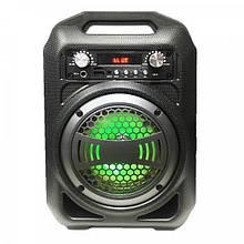 Портативна Bluetooth колонка BS12 Чорний