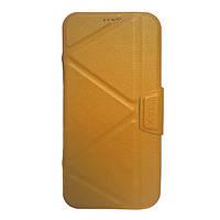 Чехол-книжка iMAX Samsung G955 S8 Plus Золотая
