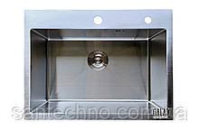 Мойка кухонная прямоугольная под столешницу GALATI ARTA U-550 (1,2мм)