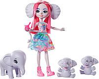 Кукла Энчантималс Семья слоненка Эсмеральды - Enchantimals Esmeralda Elephant GTM30, фото 2