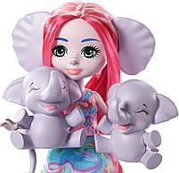 Кукла Энчантималс Семья слоненка Эсмеральды - Enchantimals Esmeralda Elephant GTM30, фото 5