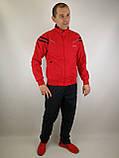 Чевоний спортивний костюм, фото 4