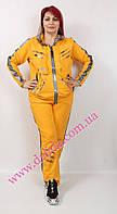 Спортивный костюм женский ;желтый.  Darkwin
