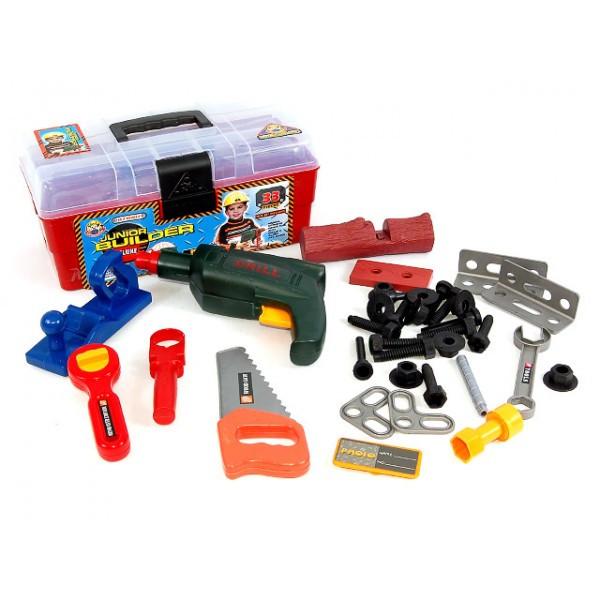 Набір інструментів 2059 у валізі з шуруповертом 33 деталі