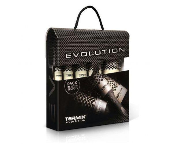 TERMIX Набір термобрашингів EVOLUTION SOFT для тонкого волосся 17/23/28/32/43