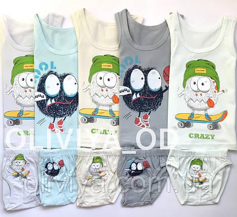 ОПТОМ Дитячі комплекти білизни (в упаковці 5 комплектів одного розміру), фото 2
