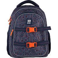Рюкзак Kite Education (K21-8001M-2) 890 р 40x29x17 см 20,5 л темно-синій, фото 1