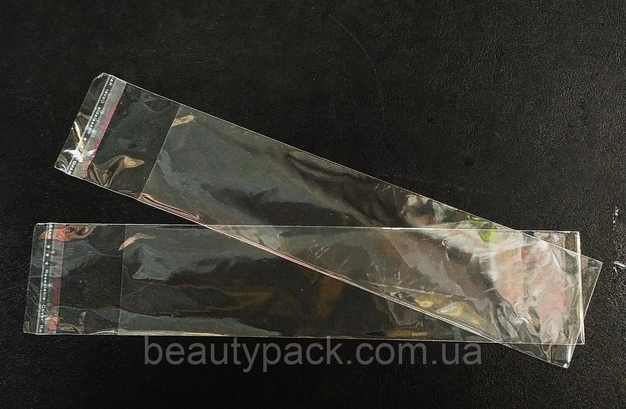 Полипропиленовые пакеты с клапаном 7 х28 см / уп-100шт 30MkM