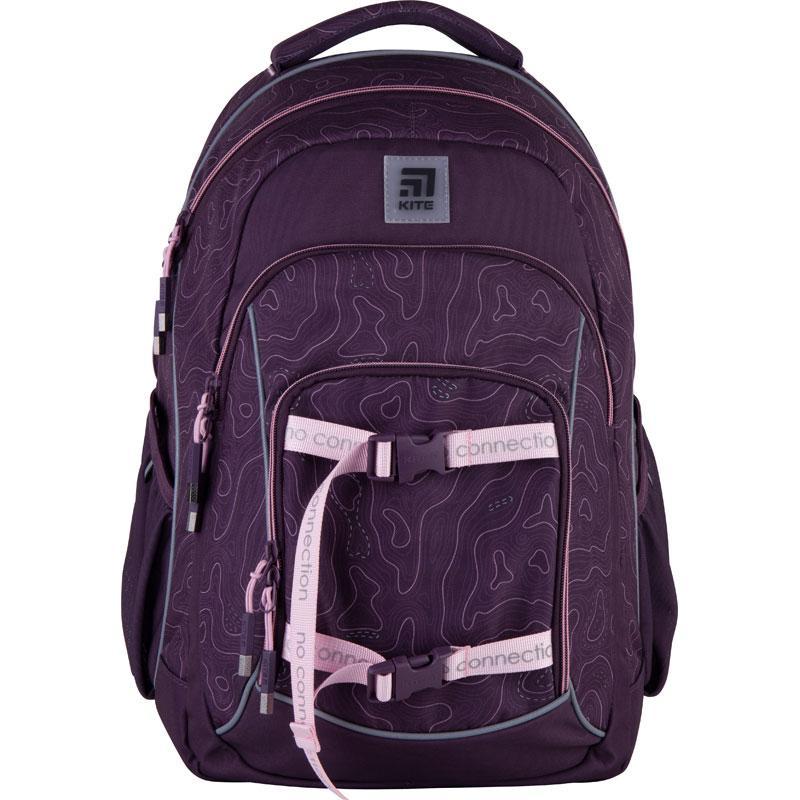 Рюкзак Kite Education (K21-814L-1) 850 г 44x31x15 см 27 л фіолетовий
