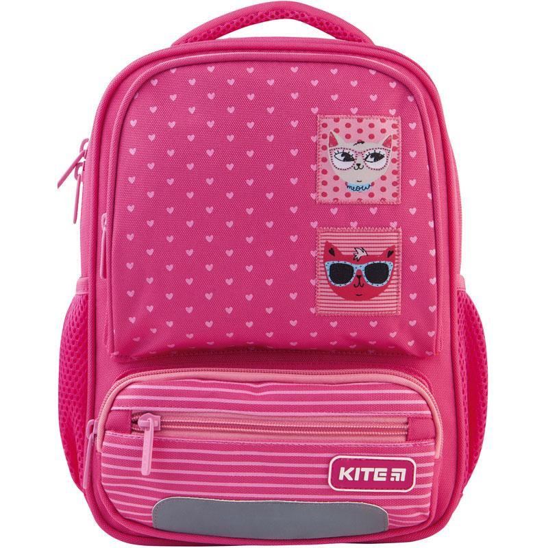 Рюкзак детский Kite Kids Cool Cats (K21-559XS-1)  340 г  29X23X9 см  8 л  розовый