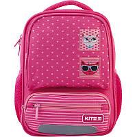 Рюкзак детский Kite Kids Cool Cats (K21-559XS-1)  340 г  29X23X9 см  8 л  розовый, фото 1