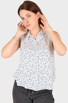 Рубашка женская белая AAA 129055M