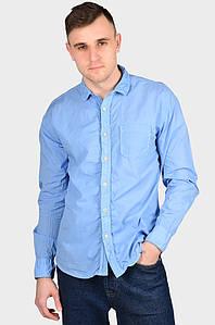 Рубашка мужская голубая AAA 128967P