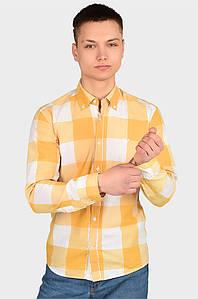 Рубашка мужская желтая размер S AAA 128988P