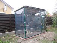 Прозрачные шторы ПВХ для вольеров