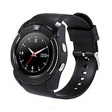 Смарт часы Smart Watch V8, Sim card + камера, black